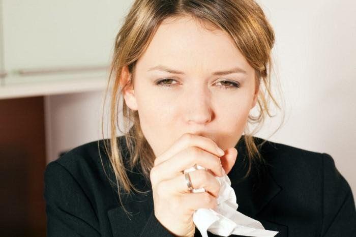 Сильный кашель без причины