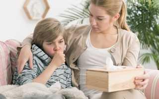 Долгий кашель у ребенка