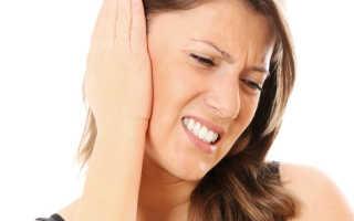 Заложило уши при простуде лечение