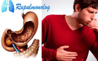 Желудочный кашель симптомы лечение