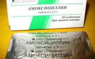 Антибиотики при простуде список