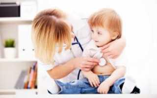 Правосторонняя пневмония у ребенка