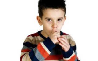Сухой кашель у ребенка без температуры ночью