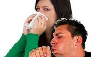 Сухой кашель и насморк