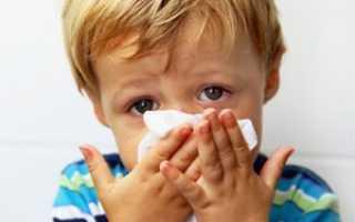 Температура при простуде у ребенка