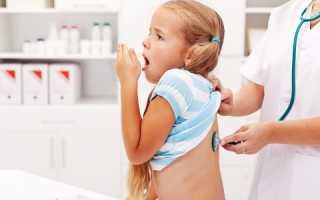 Высокая температура и кашель у ребенка