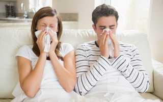 Лечение ОРВИ у взрослых препараты