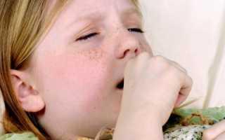 Сухой удушающий кашель у ребенка