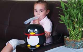 Ингаляции при пневмонии в домашних условиях
