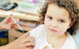 Местная реакция на прививку от гриппа