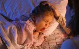 Сухой кашель у ребенка без температуры комаровский