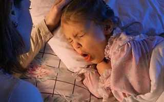 Сильный ночной кашель у ребенка без температуры