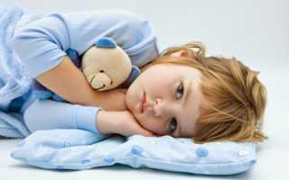 Длительный сухой кашель у ребенка