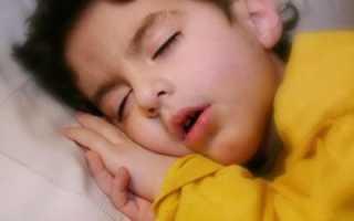 Кашель у ребенка когда ложится спать