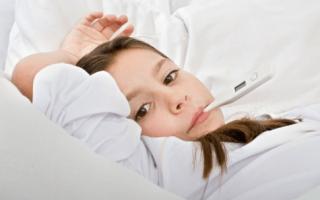 Температура после бронхита у ребенка