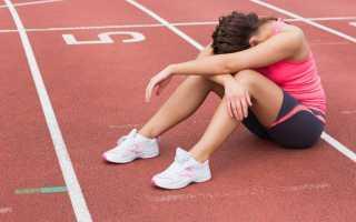 Можно заниматься спортом при простуде