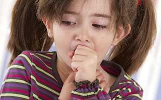 Сильный кашель у ребенка 2 года