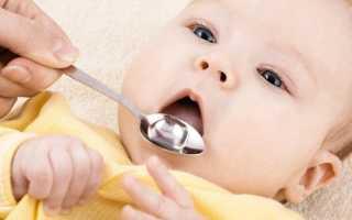 Чем лечить кашель у ребенка до года