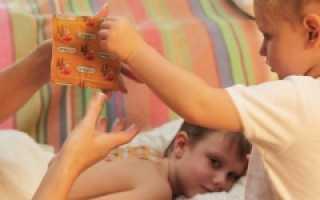 Как поставить горчичники ребенку при кашле