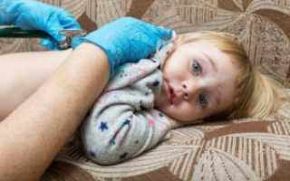 Воспаление легких симптомы у детей 4 лет