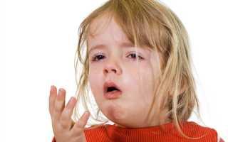 Кашель у ребенка без температуры лечение