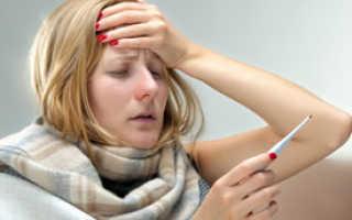 Симптомы вируса гриппа