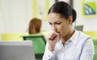 Затянувшийся кашель у взрослого лечение