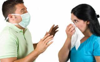 Передается ли пневмония от человека к человеку