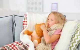 У ребенка сильный кашель что делать