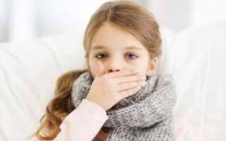 Сильный влажный кашель у ребенка