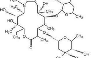 Антибиотик при простуде взрослому 3 таблетки