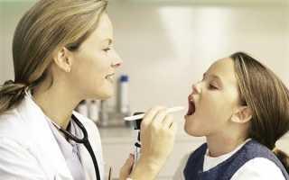 У ребенка кашель и болит горло