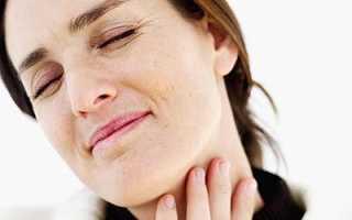 Дерет горло и сухой кашель