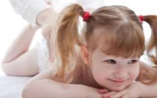 МАССаж при кашле у ребенка видео