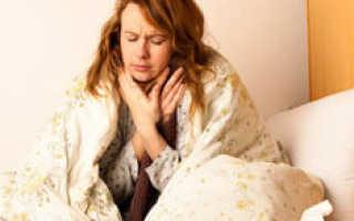 Ночной сухой кашель