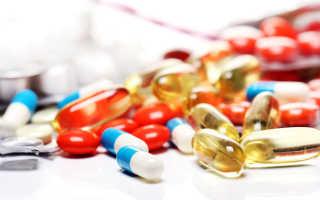 Таблетки при ОРВИ у взрослых