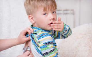 Сухой кашель у ребенка без температуры причины