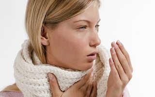 Сиплый кашель