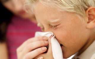 Лечение ОРВИ у детей до 1 года
