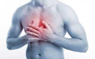 Бронхит боль в грудной клетке