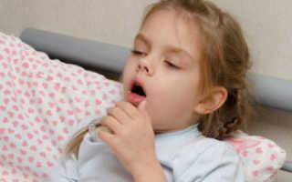 Сухой кашель после влажного у ребенка