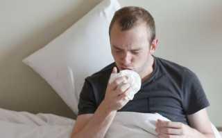Сильный сухой кашель без температуры у взрослого